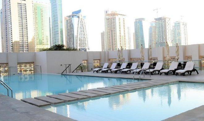 Dubai Marina West Avenue Tower - Swimming Pool