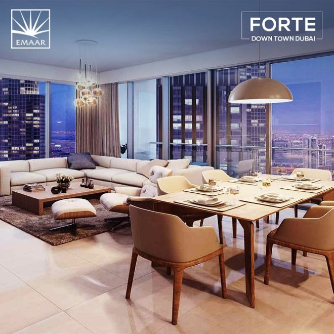 Forte Downtown by Emaar - Dubai - Hall