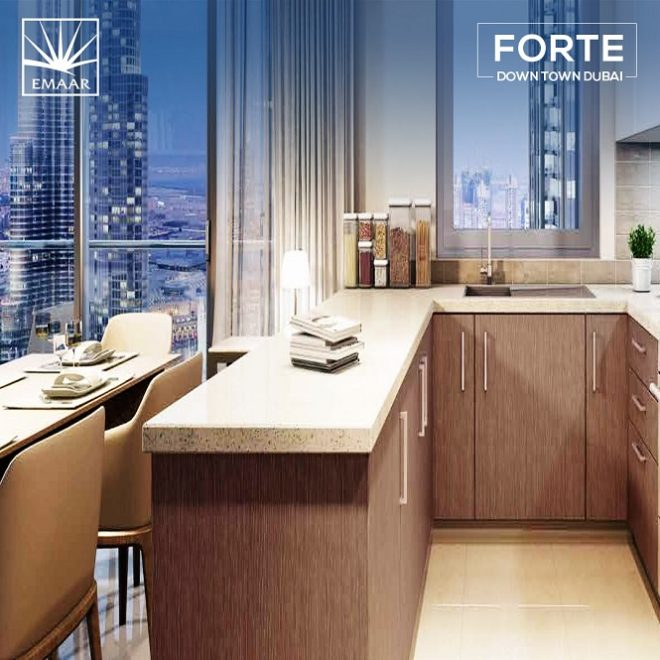 Forte Downtown by Emaar - Dubai - Kitchen