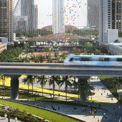 Bayshore at Dubai Creek Metro Station
