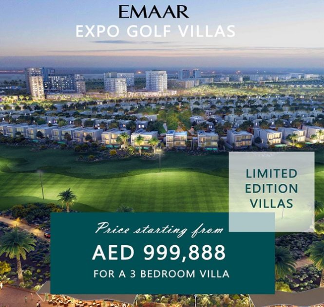 Emaar Expo Golf Villas at Emaar South Premium Villas