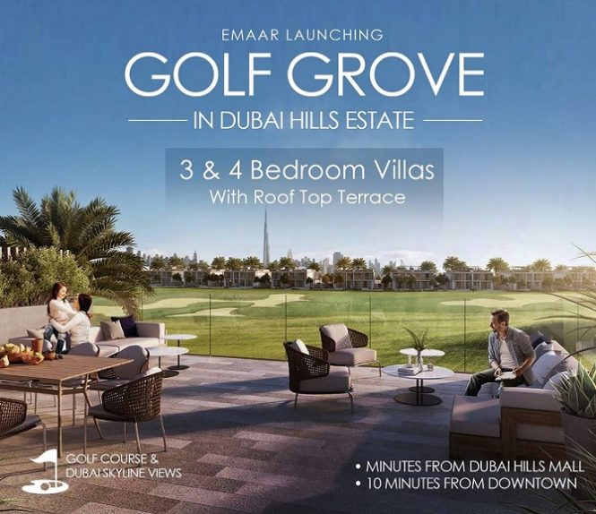 Golf Grove by Emaar Dubai Hills Estate