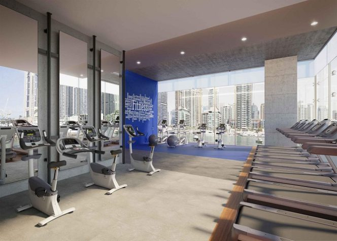 Jumeirah Living Marina Gate - Fitness Center