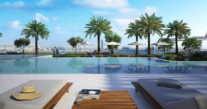 Creek Edge at Dubai Creek Harbour by Emaar - Infinity Swimming Pool