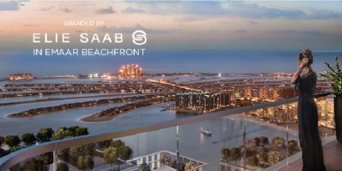 Elie Saab Branded Apartments in Emaar Beachfront