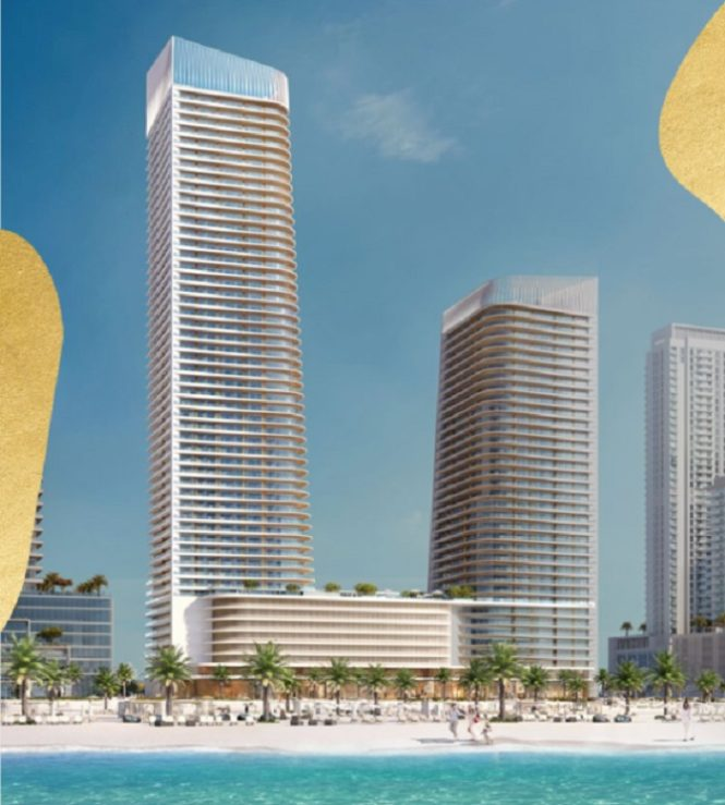 Elie Saab Branded Apartments in Emaar Beachfront.- Overview