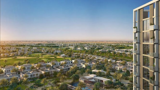Golfville Apartments at Dubai Hills Estate by Emaar - View