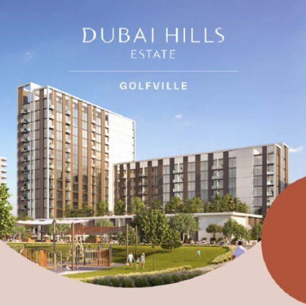 Golfville Apartments at Dubai Hills Estate by Emaar
