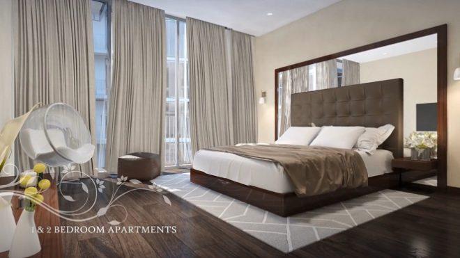Q Gardens by AVS Developers - Arjan Dubai Bedroom