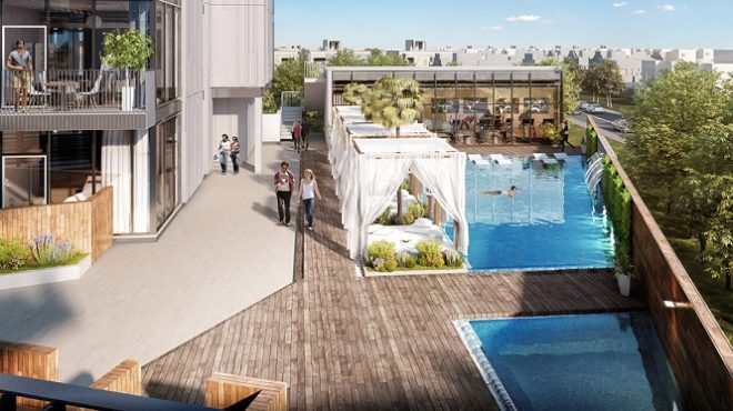 Q Gardens by AVS Developers - Arjan Dubai - Swimming Pool