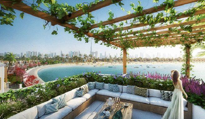 Sur La Mer Townhouses in Jumeirah by Meraas -Featured