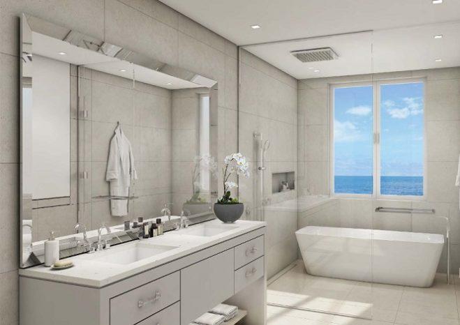 Sur La Mer Townhouses by Meraas in Jumeirah Bathroom