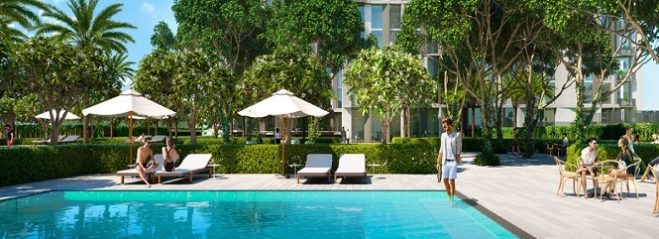 Collective 2 by Emaar at Dubai Hills Estate - Swimming Pool