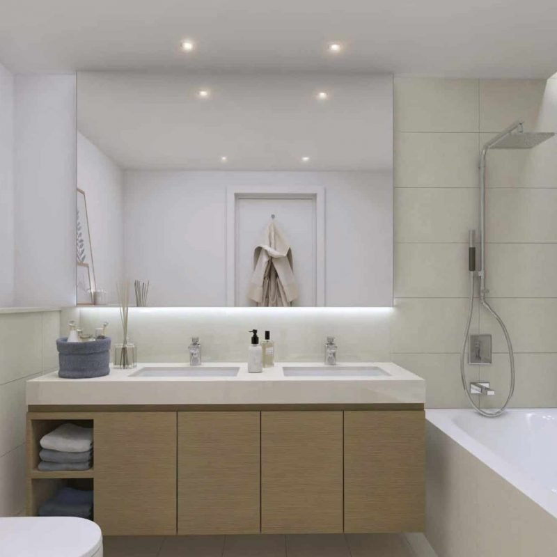 Downtown Views 2 by Emaar luxury apartments - Bathroom