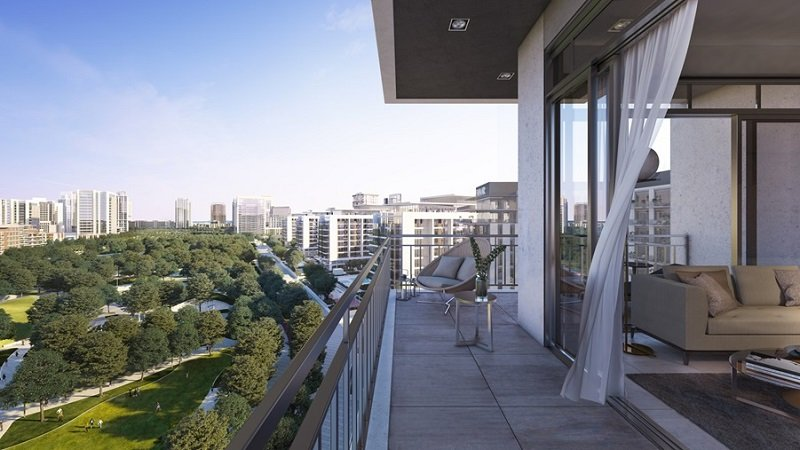 Park Ridge at Dubai Hills Estate by Emaar - Balcony
