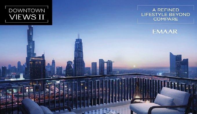 Downtown Views II by Emaar Properties