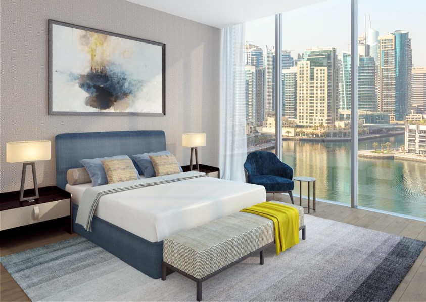 Jumeirah Living Marina Gate - Bedroom Duplex