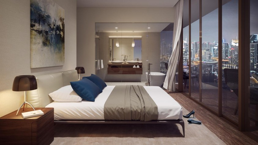 Jumeirah Living Marina Gate - Bedroom