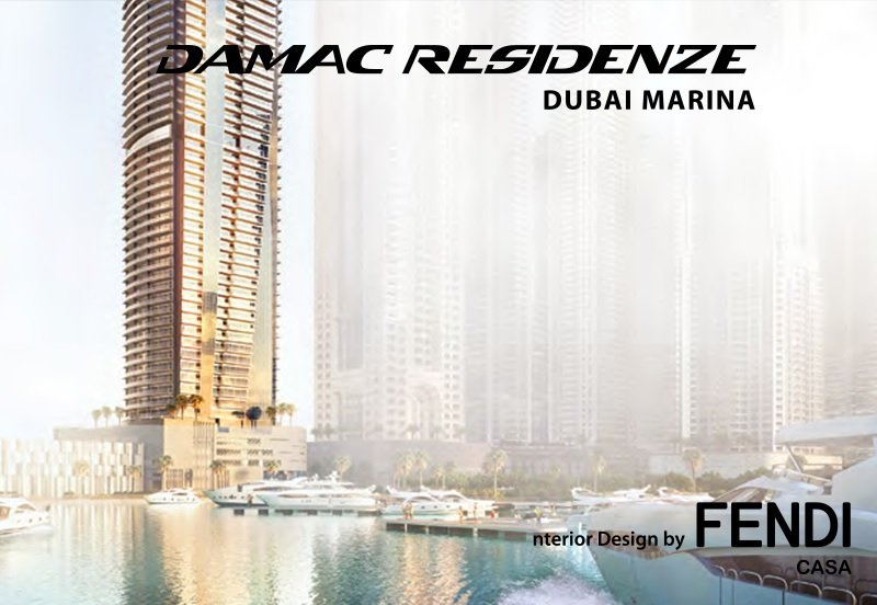 Damac Residences - Interior by Fendi Casa