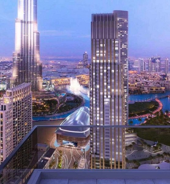 Emaar Forte Towers Downtown Dubai - Burj Khalifa View