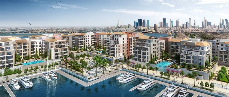 La voile waterfront apartments by Meraas