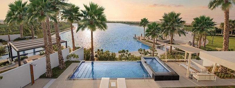 ELAN Townhouses Tilal Al Ghaf by Majid Al Futtaim swimming pool