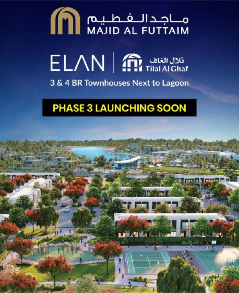 Tilal Al Ghaf Elan Townhouses - MAF launch - Dubai