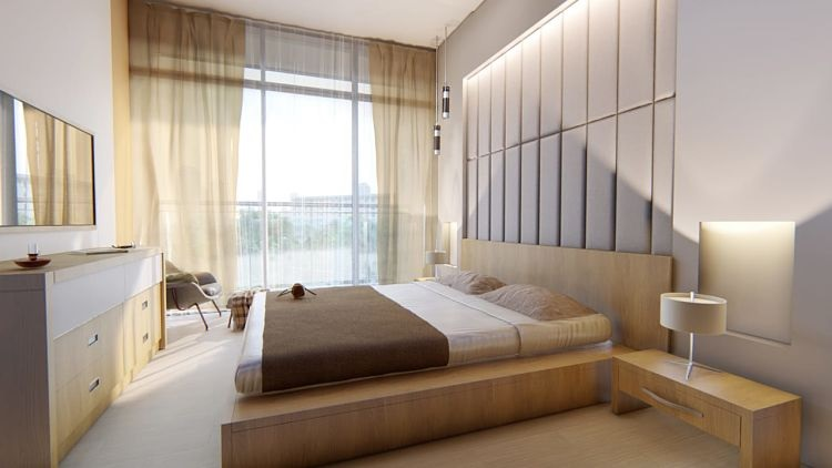 Samana Golf Avenue at Dubai Studio City DSC - Bedroom
