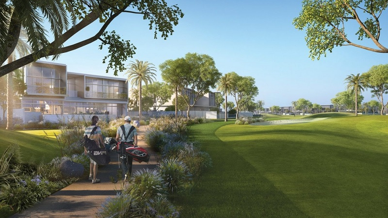 Golf Place Villas at Dubai Hills Estate by Emaar