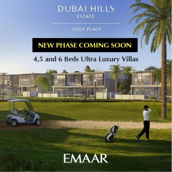 Golf Villas at Dubai Hills Estate - New Launch