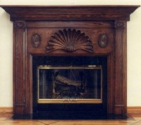Wood Fireplace Mantels: Custom Carved for Beauty ...