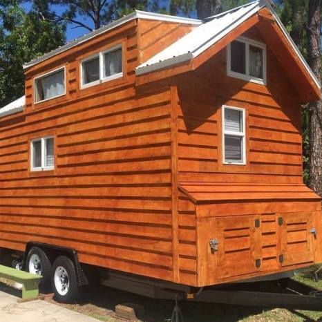 Suzy Beckwith tiny house