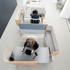 Great Office Chairs Funky Wooden Open Workstations | Building Block Interiors