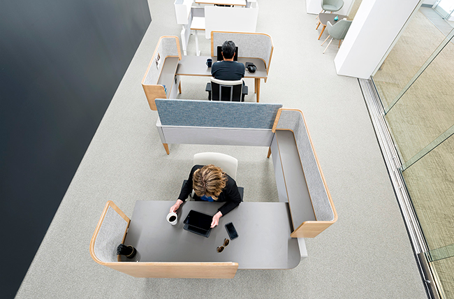 Open Office Workstations Building Block Interiors