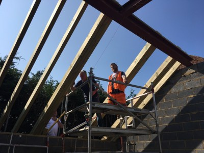 Measuring rafter positions