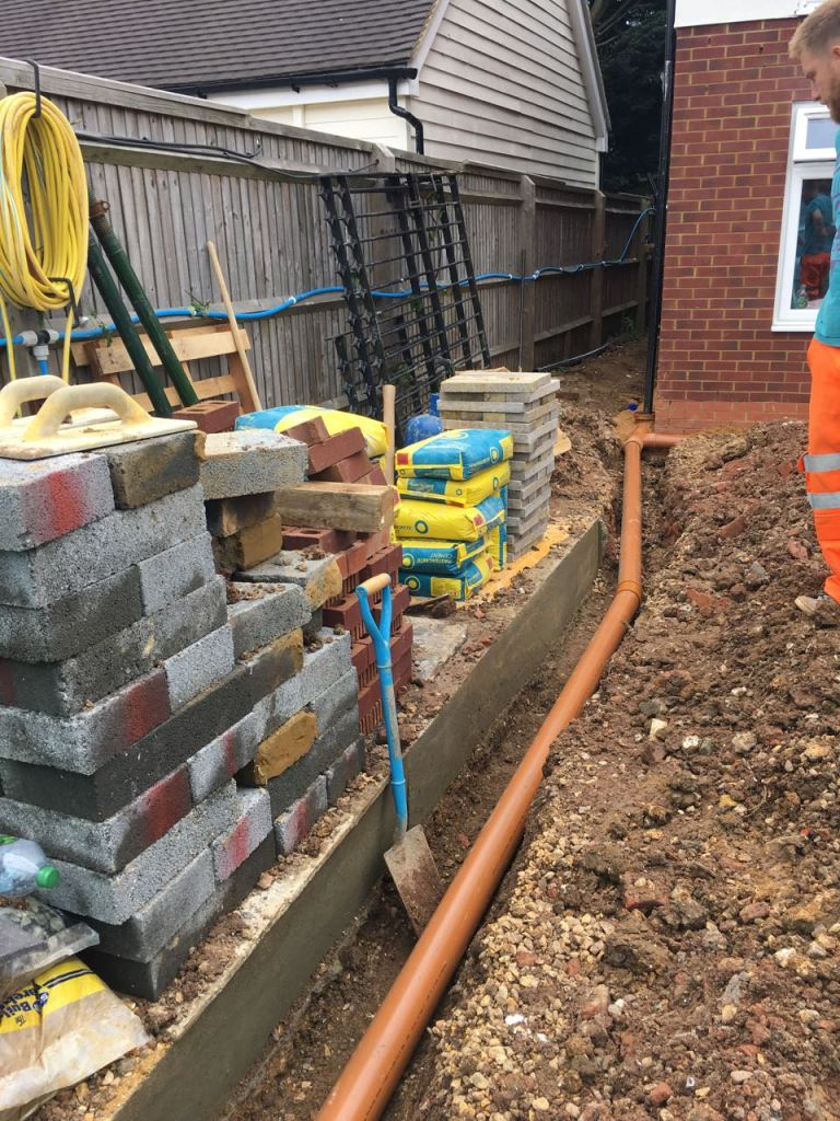 Building Blox Week 23 Surface Water Drainage And Bin Stores