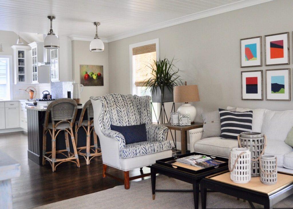 Open concept living in this Toledo rental