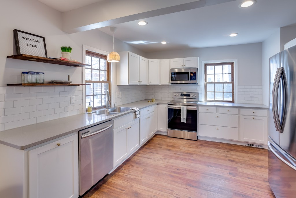 Large, renovated kitchen