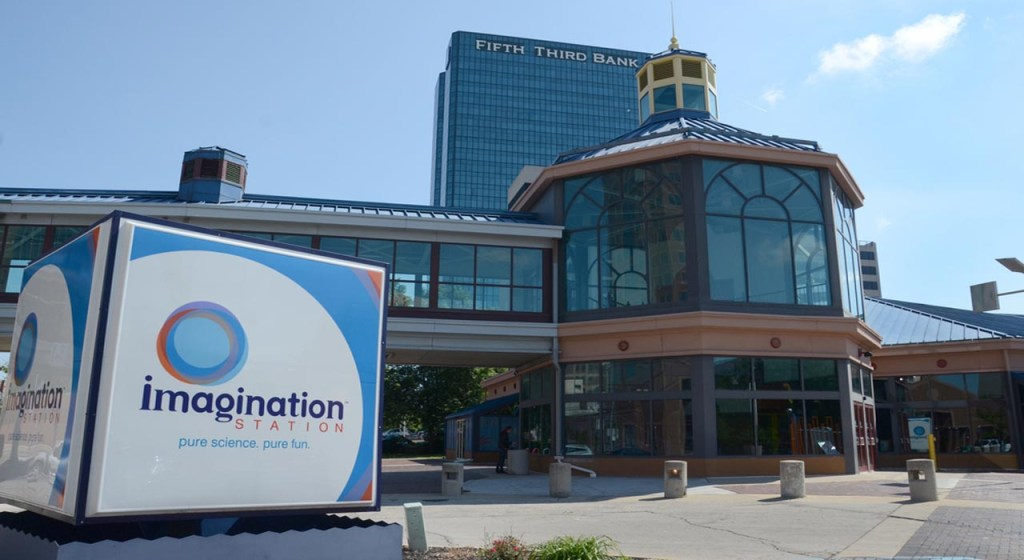 Visit imagination station while your kids are on break