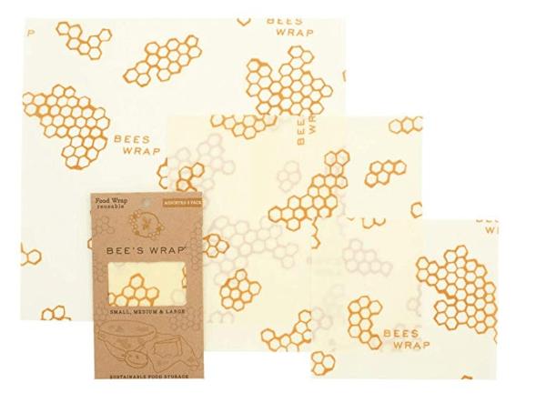 Eco-friendly Bee's Wrap to eliminate single-use plastic