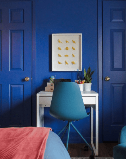 Carmeon Hamilton uses bright colors to bring energy to a space   Building Bluebird