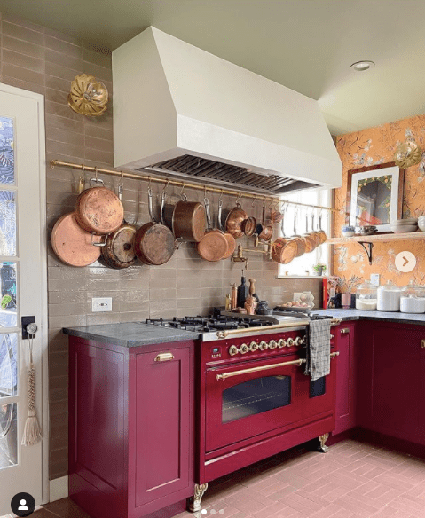 Shavandas bright and colorful kitchen is full of energy   Building Bluebird