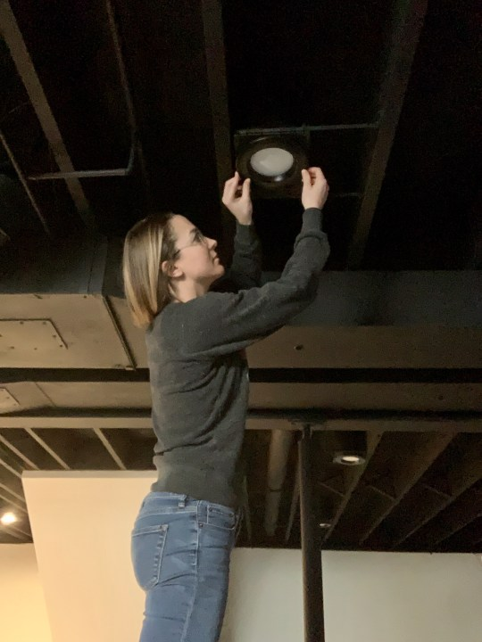 How to paint an exposed basement ceiling black | Building Bluebird