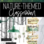 Nature Themed Classroom Decor A Calming And Plant Filled Classroom Building Book Love