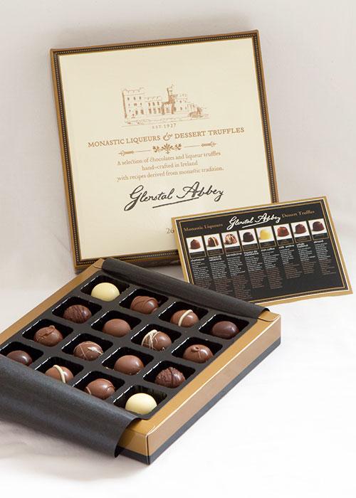 Glenstal-Chocolate-Liqueur-Truffles – Building Catholic Culture