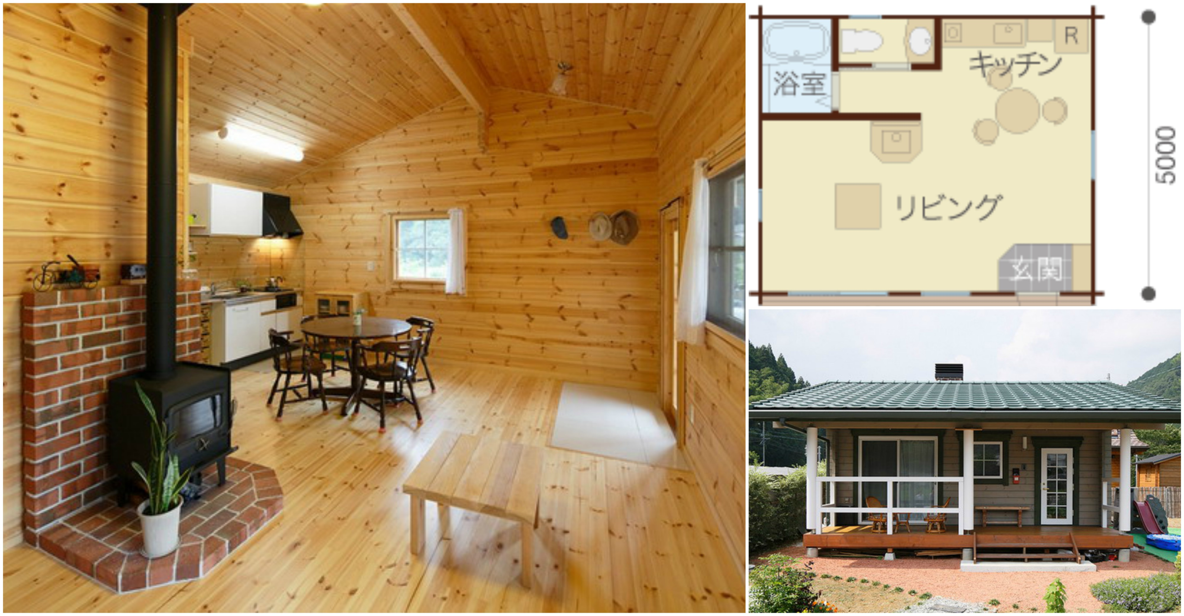 A Japanese Style Tiny House  Check Out that AllWood Interior
