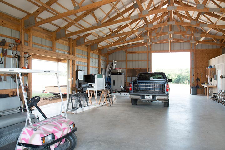 Metal Buildings Can be Homes or Garages with Living Areas