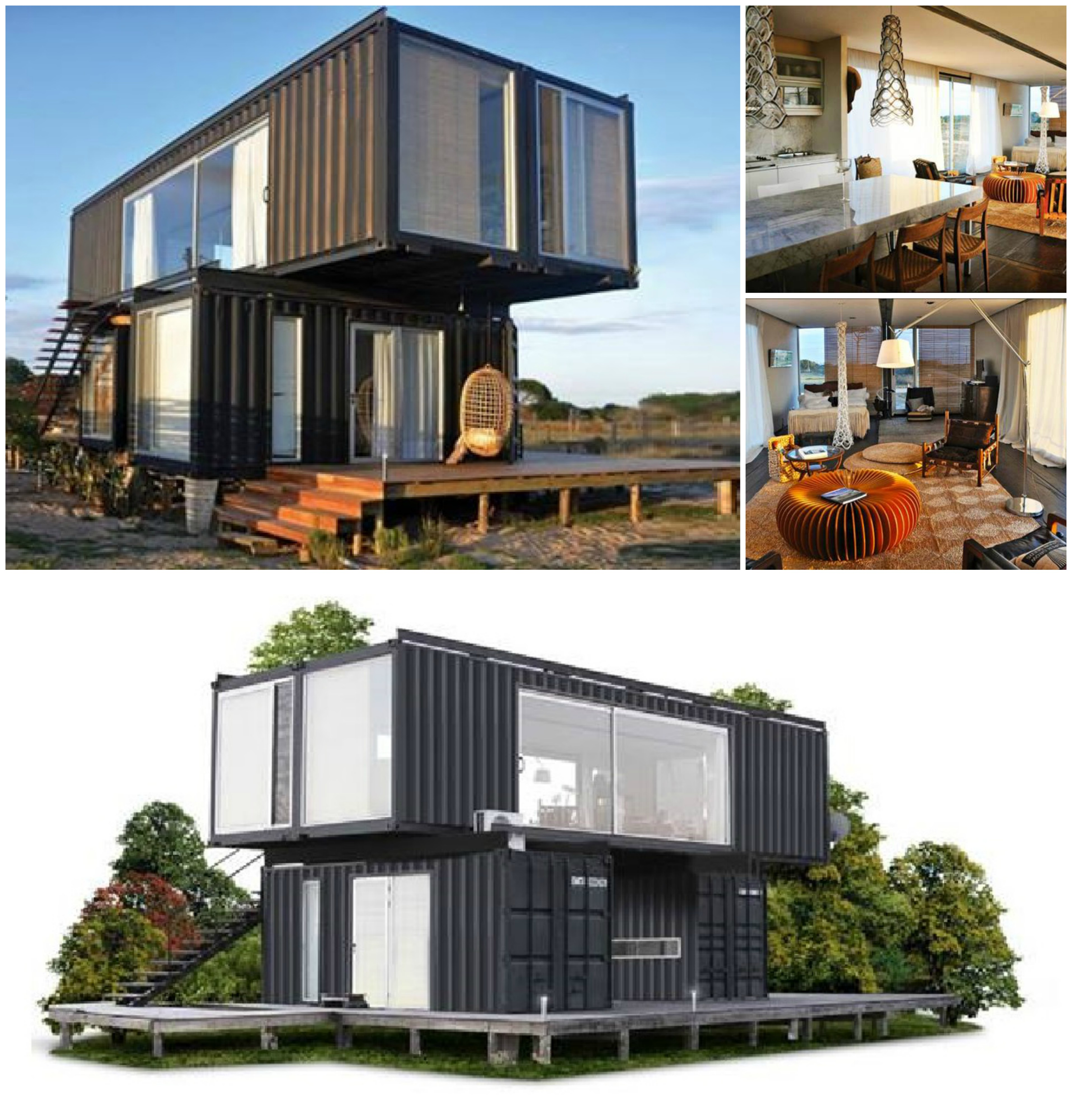 Best Kitchen Gallery: Container Homes In Los Angeles Home Furniture Design of Container Beach Homes on rachelxblog.com