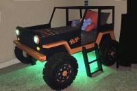 DIY Jeep Bed