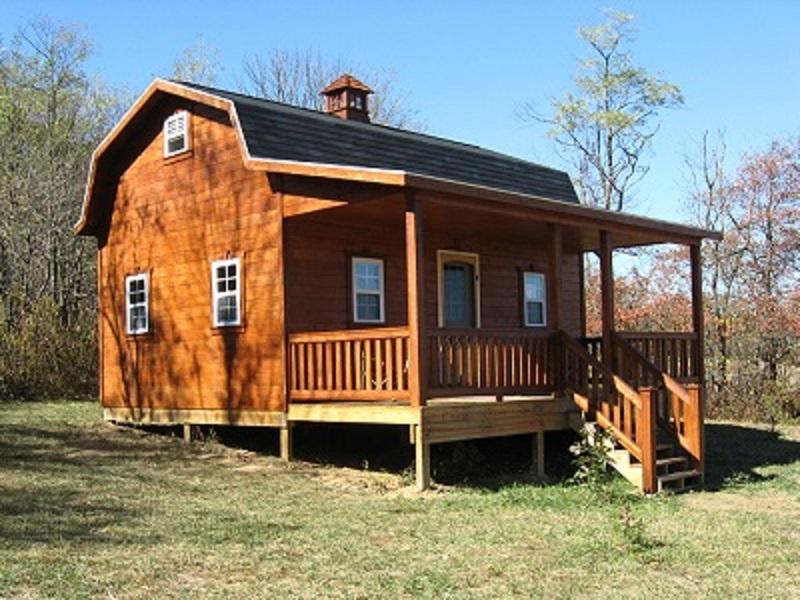 These Amish Gambrel Homes Start at 7755